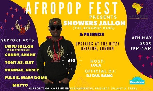 Afropop Fest 2020!