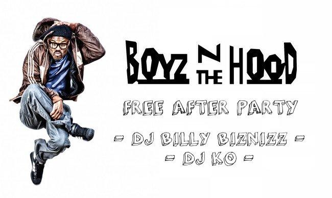 Boyz n the Hood After Party: Billy Biznizz + DJ KO