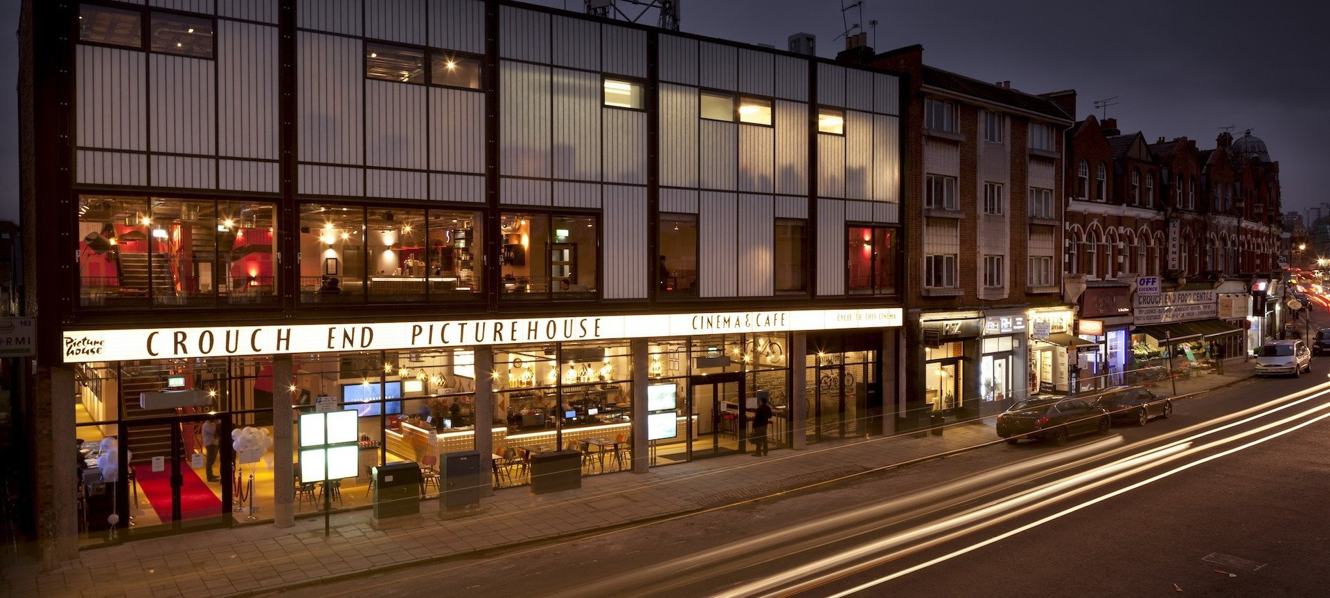 Welcome to <br> Crouch End Picturehouse