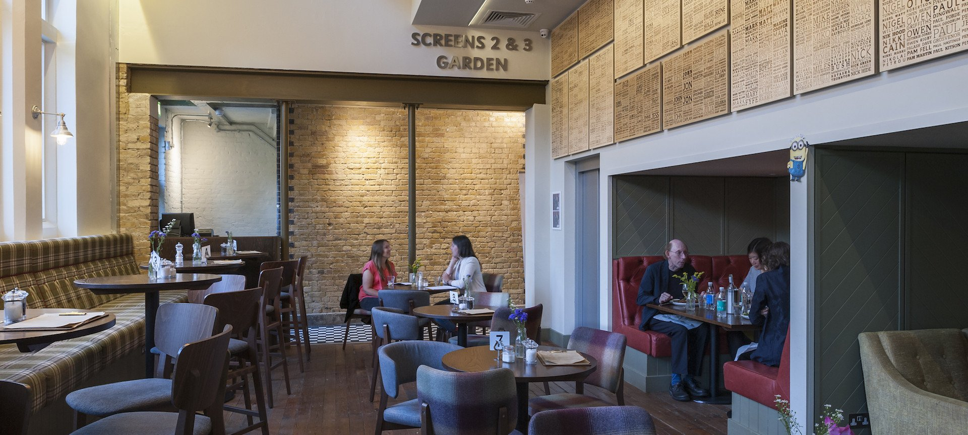 VENUE AND EVENT HIRE<br>AT EAST DULWICH PICTUREHOUSE AND CAFÉ