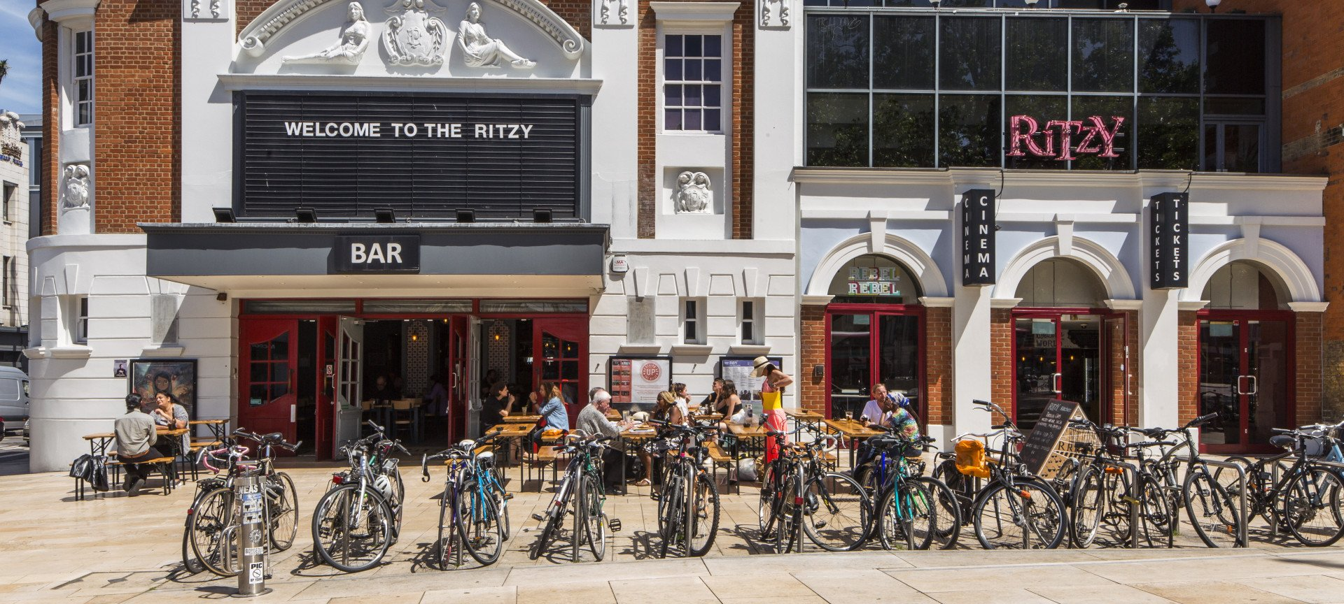 Welcome to<br>The Ritzy, Brixton