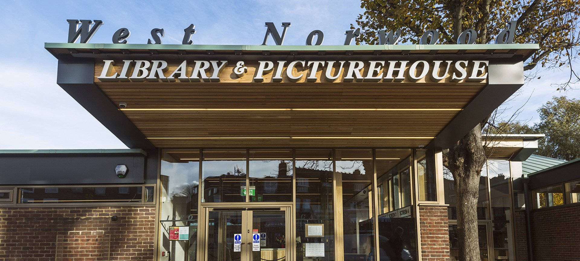 Welcome To<br>West Norwood Library & Picturehouse