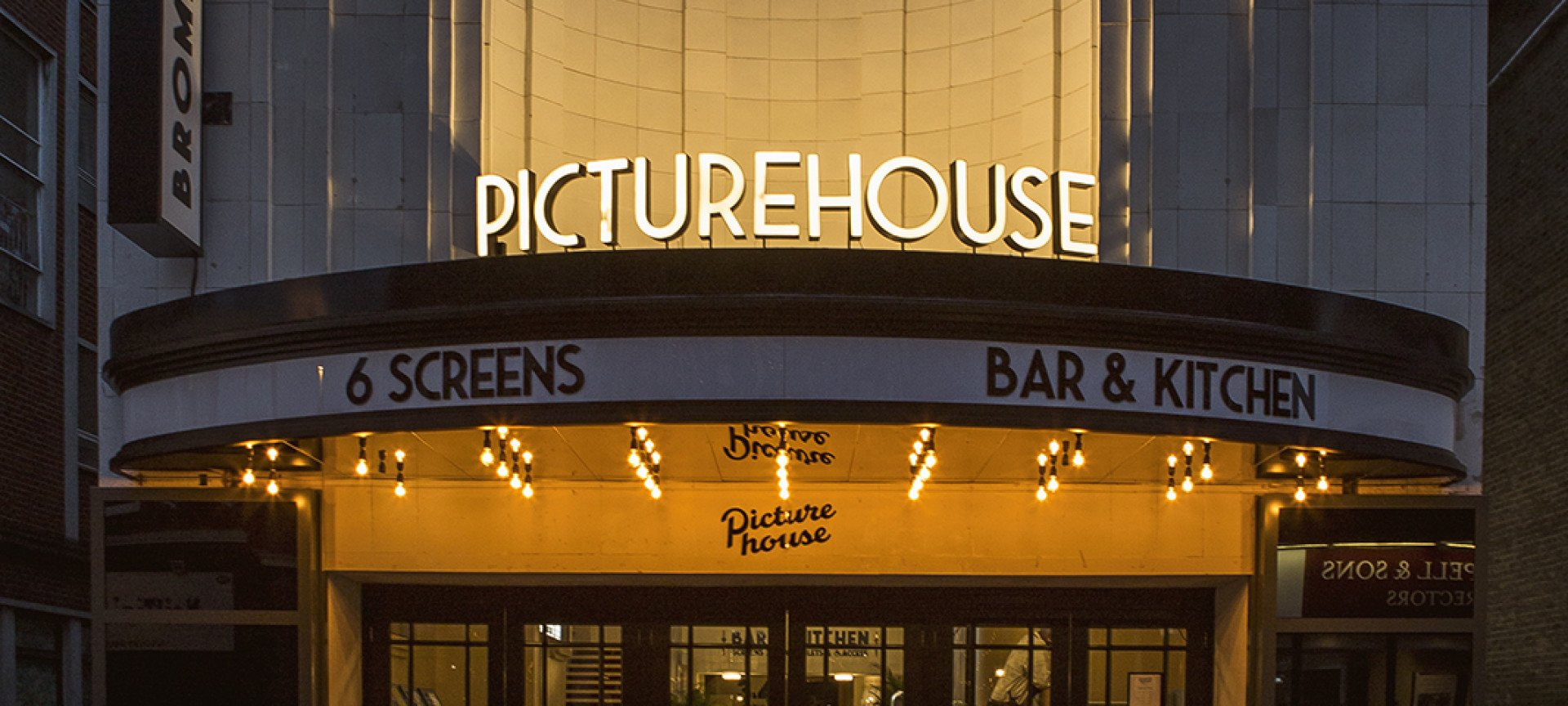 Welcome To<BR>Bromley Picturehouse